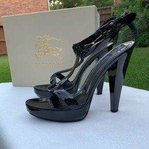 Burberry black heels